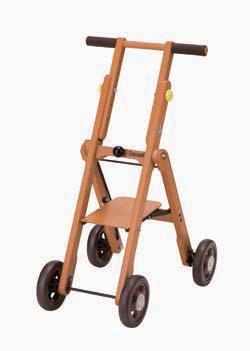 木製シルバーカー